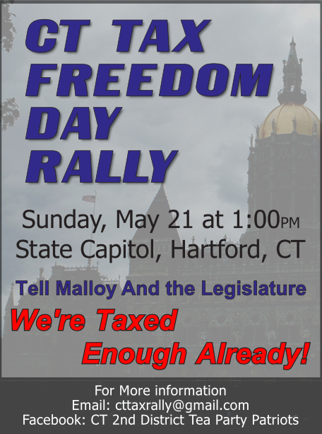 Tax Freedom Day Rally Flyer